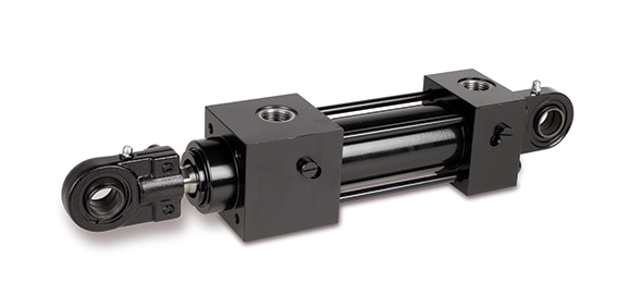 IMI Herion hydraulic double acting differential cylinder